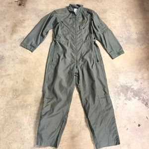 Vintage USAF Air Force Pilot Flight Suit Coverall